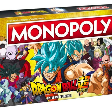 Buy, Sell, and Trade ZFighters in Monopoly: Dragon Ball Super Universe Survival Edition