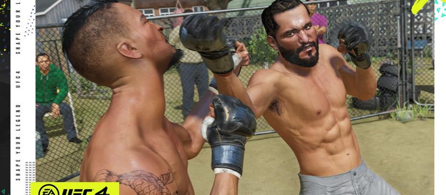 Have a Backyard Brawls in UFC 4