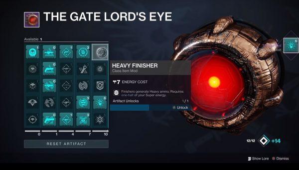 Destiny 2: Shadowkeep – how to use The Gatelord's Eye Artifact