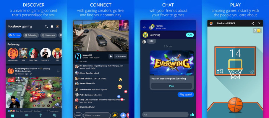 Facebook to launch a new game streaming app