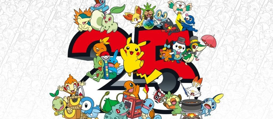 Pokemon 25th Anniversary Celebrations Begin With Nostalgic Video and Tease of What's to Come