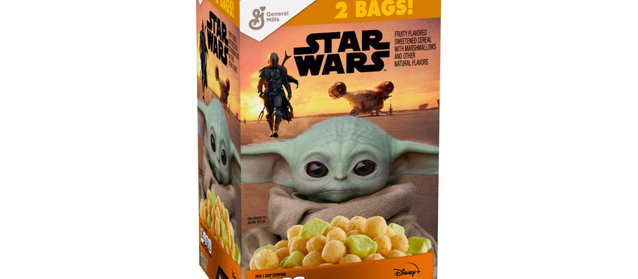 Star Wars 'The Mandalorian' Cereal Provides a Taste From Galaxy's Far Far Away