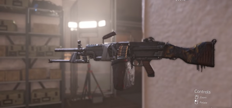 The Division 2: how to get the Pestilence Exotic LMG