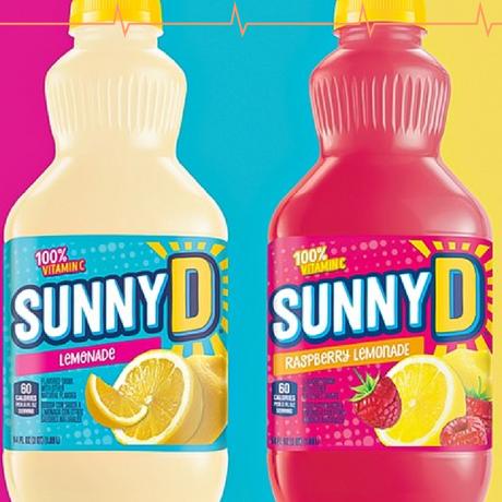 SUNNYD Introduces Refreshing New Lemonade and Raspberry Lemonade Summer Flavors