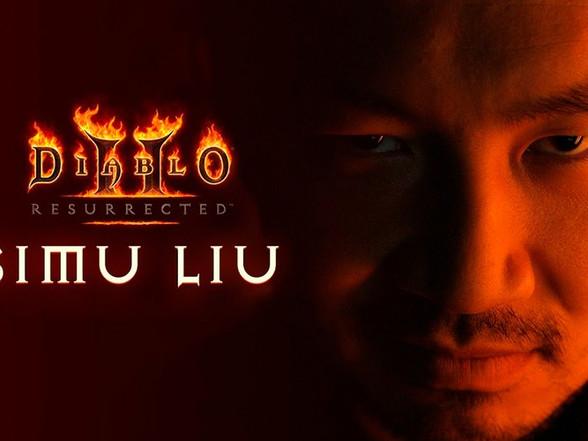 Simu Liu Stars in Live-Action Trailer for 'Diablo II: Resurrected'