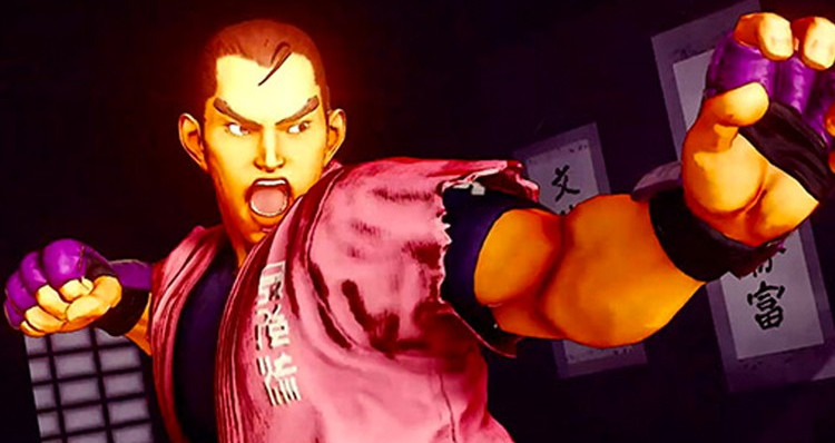 Dan Hibiki Steps Into the Ring on Street Fighter V
