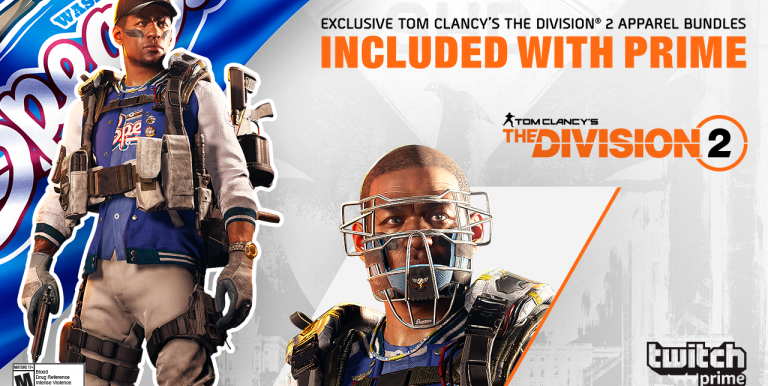 First Look at The Division 2 Twitch Prime Exclusive Skins