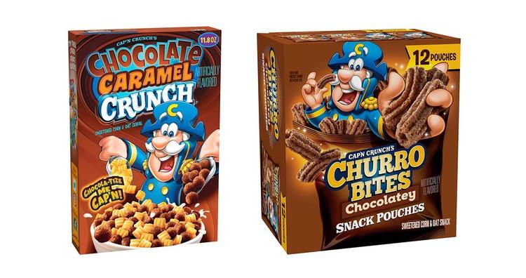 Gamer Eats: Cap'n Crunch Churns Out New Chocolatey Churro Bites & Chocolate Caramel Crunch
