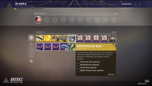 Destiny 2: Black Armory – How to get the Mysterious Box Exotic quest item!