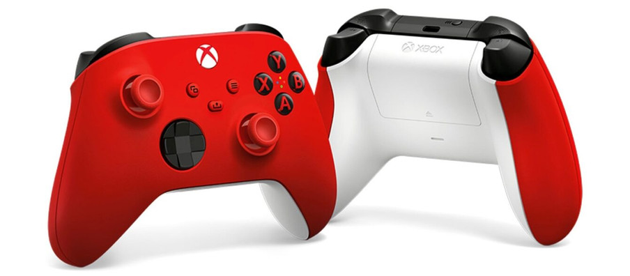 Xbox Reveals New Pulse Red Controller