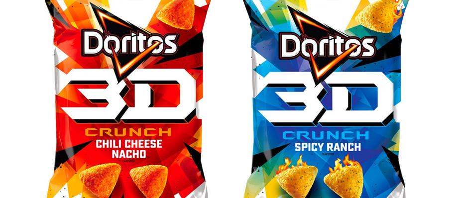 Gamer Eats:'90s Kids-Favorite Doritos 3D Crunch Returns in Chili Cheese Nacho and Spicy Ranch