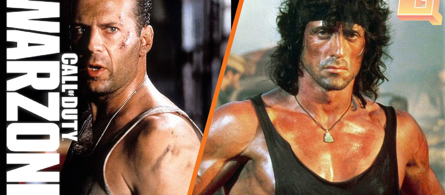 Activision is teasing Rambo and John McClane for Warzone