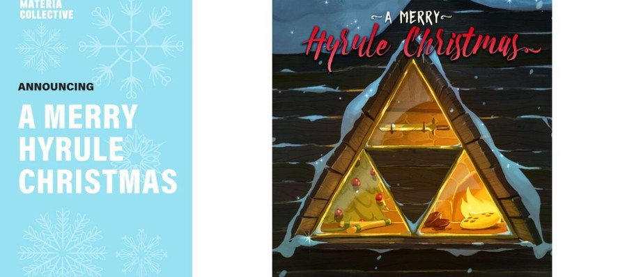 Relax by The Fire With A Merry Hyrule Christmas, a Zelda-Themed Album