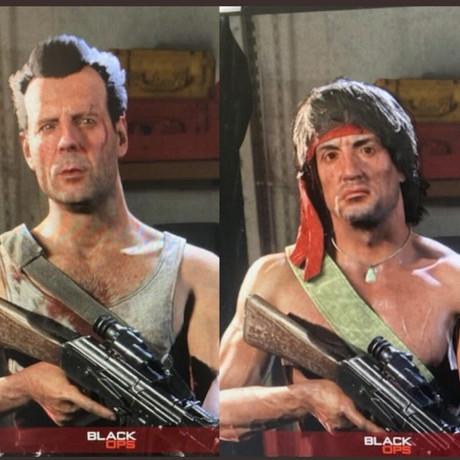 Warzone Rambo & John McClane Operator Images Leaked
