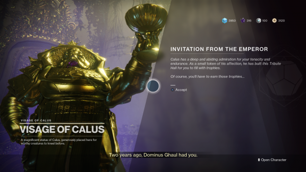 Destiny 2: Tribute Hall – how to get started and earn Tributes
