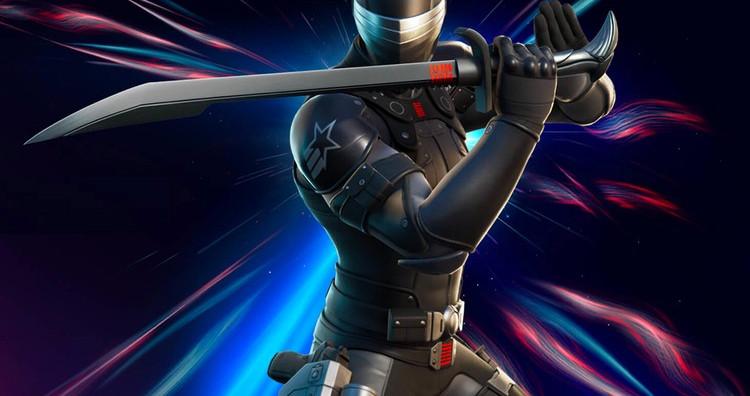 'Fortnite' Introduces New 'G.I. Joe' Snake Eyes Skin and Action Figure