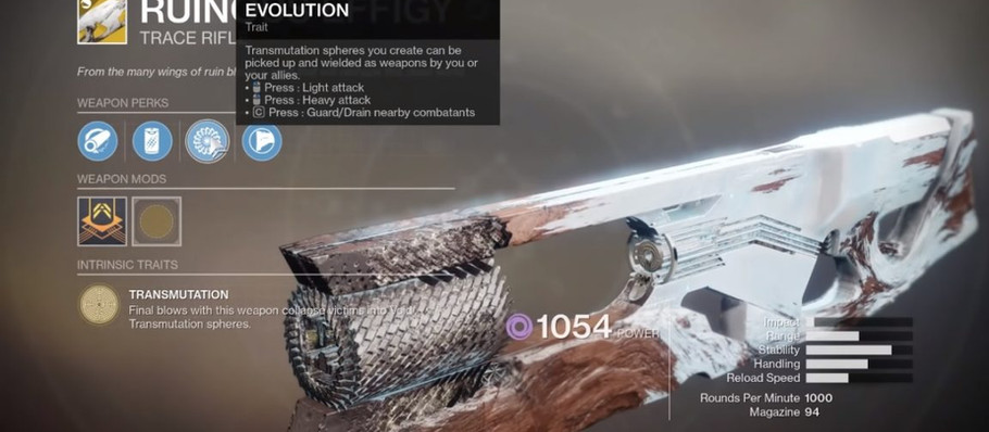 Destiny 2: Season of Arrivals – How to get the Ruinous Effigy Exotic Trace Rifle and Catalyst