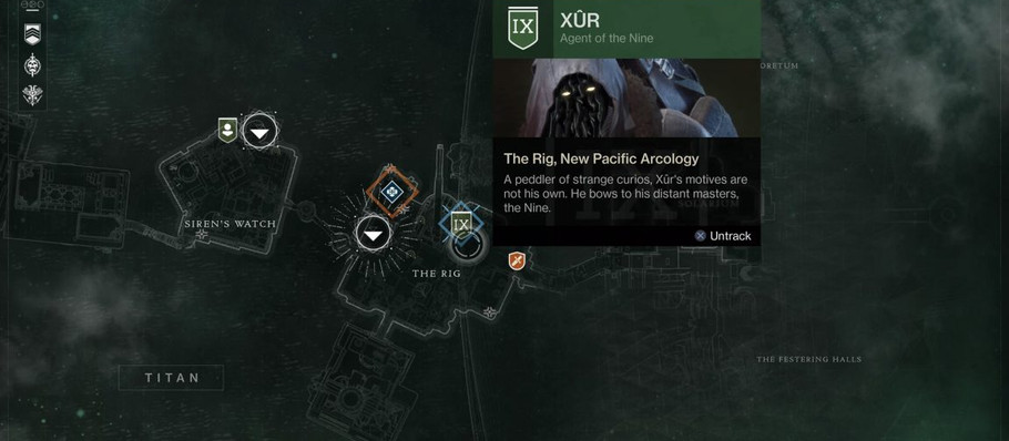 Destiny 2: Xur location and inventory, Invitations of the Nine – April 5-8