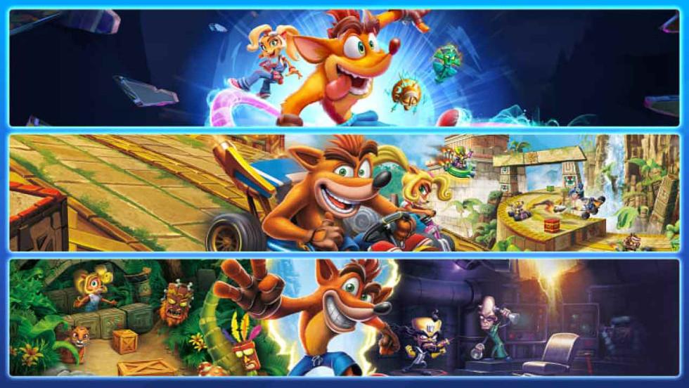 Crash Bandicoot Crashiversary and Quadrilogy bundles released