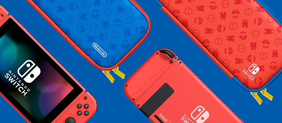 Nintendo Releasing New Mario-Themed Special Edition Switch