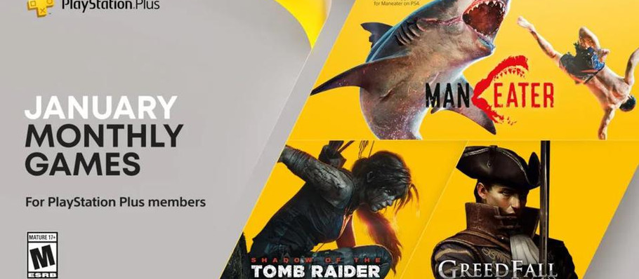 PS Plus Free Games For January Revealed, Includes PS5 Version of Maneater