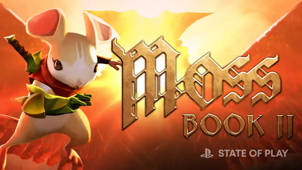 Sony's Latest State of Play Unveils 'Moss: Book II,' 'Arcadegeddon,' 'F.I.S.T' + More