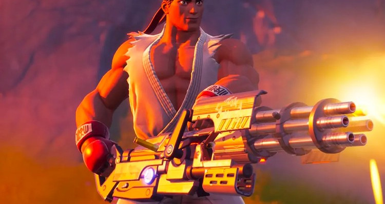 'Fortnite' Announces Ryu and Chun-Li for 'Street Fighter' Crossover