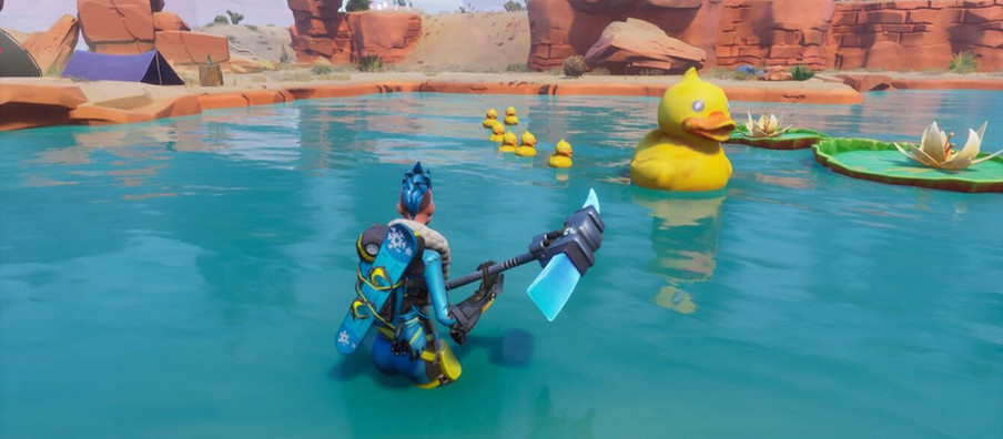 Fortnite Go For A Swim At Lazy Lake Challenge Guide