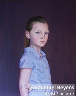 Tableau personnalisé(50 × 60 cm) d'un de vos enfants