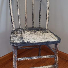 Chippy paint chair