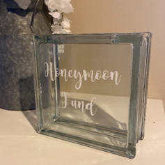 Honeymoon Fund Coin holder