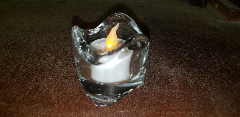 Crystal votives
