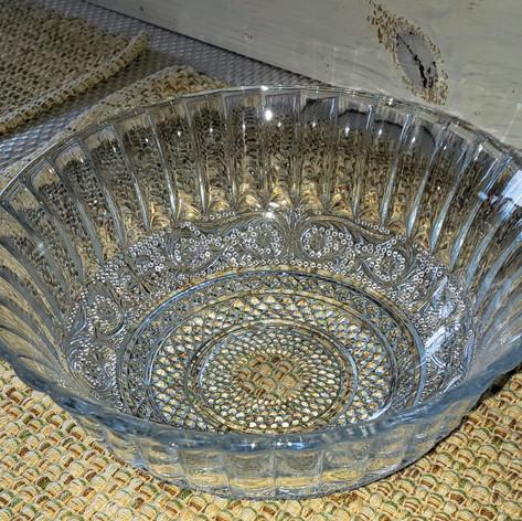 Glass Crystal bowls