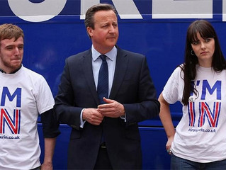 Is David Cameron moonlighting as a Brexit supporter?