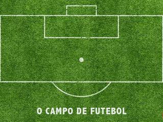 O campo de futebol