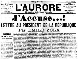 120 anos depois, o J'Accuse de Émile Zola se encaixa no Brasil de hoje