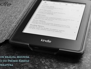 Amazon realiza segunda edição do Prêmio Kindle de Literatura