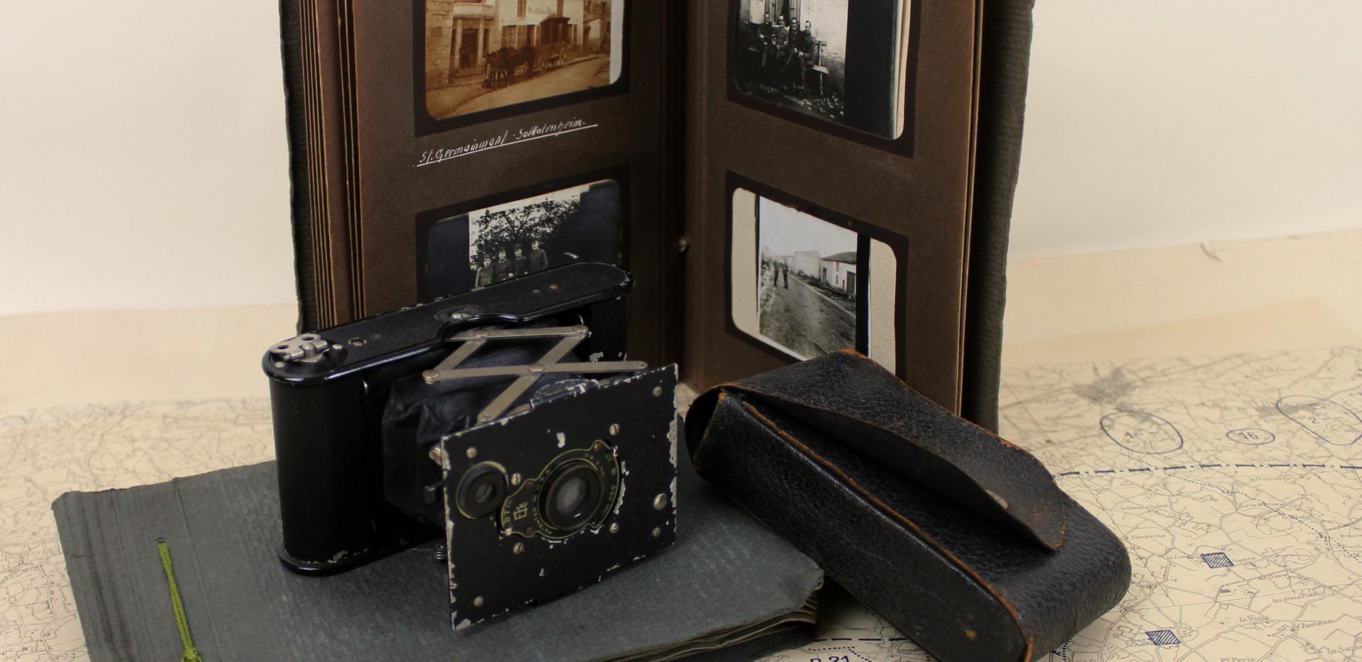 Kodak Vest pocket & albums photographique - Coll. Pro-Bellum