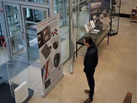 Exposition / Médiathèque Jean Lévy, Lille / Janvier 2019