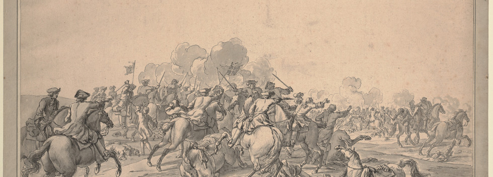 Choc de cavalerie vers 1705, Anne S.K. Brown Military Collection