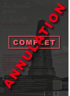 ANNULÉ / Conférence / La bataille après la bataille, Malplaquet 1709 / Malplaquet, 7 novembre 2020