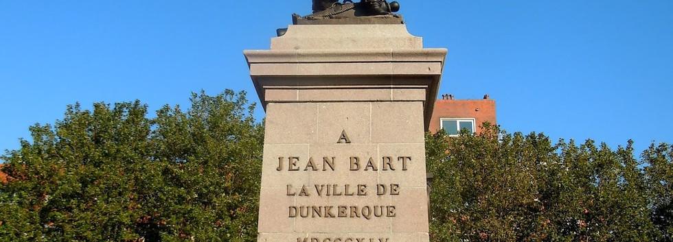 Statue de Jean-Bart Dunkerque
