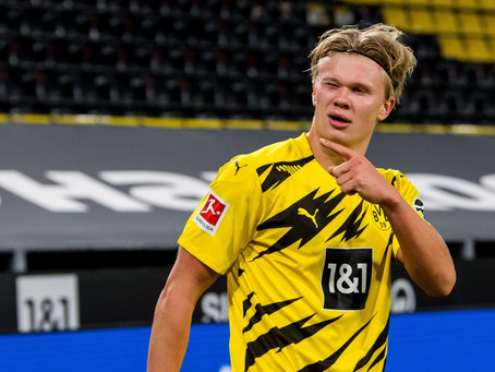 Five best-suited clubs for Erling Haaland