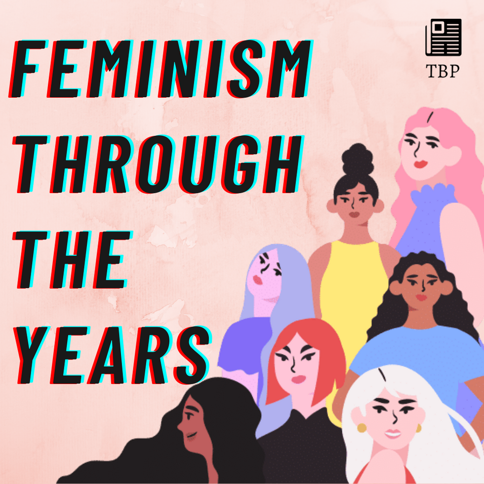 Feminism through the years
