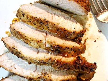 Sweet and Smoky Roasted Turkey Tenderloin