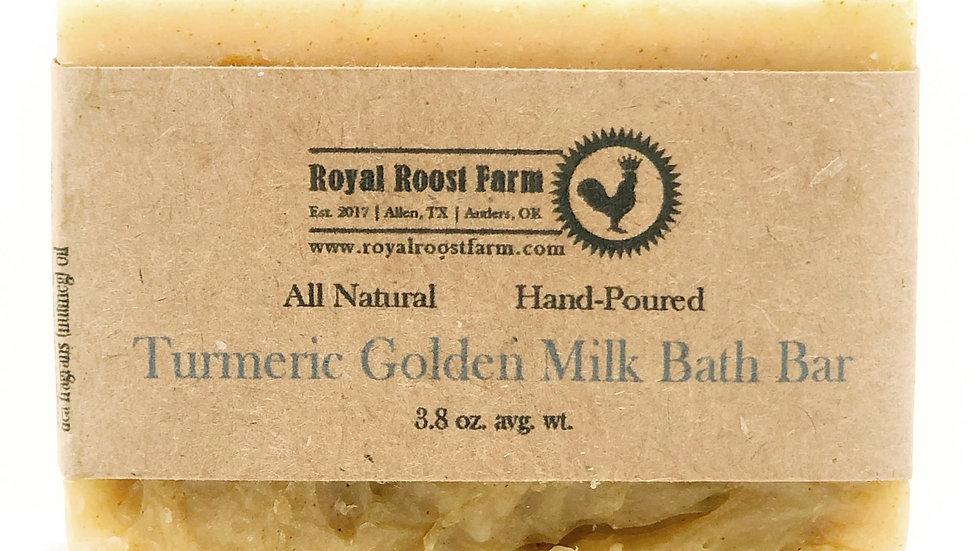 Turmeric Golden Milk Bath Bar