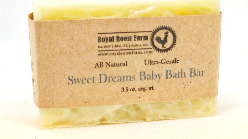 Sweet Dreams Baby Bath Bar