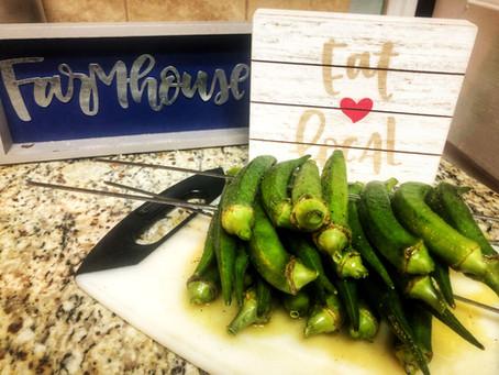 Recipe: Grilled Okra
