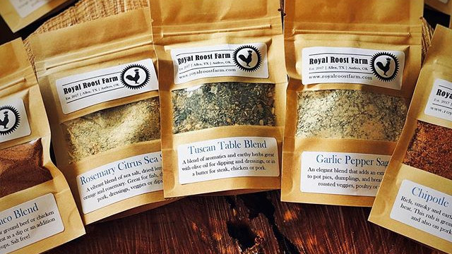Seasoning Blend Sampler Kit