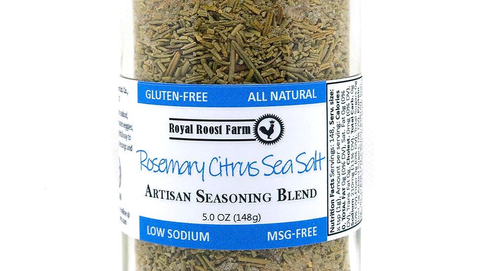Rosemary Citrus Sea Salt, large jar